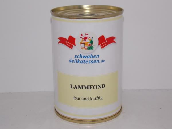 Feiner kräftiger Lammfond