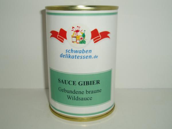 "Gebundene braune Wildsauce ""Sauce Gibier"" Beste Zutaten"