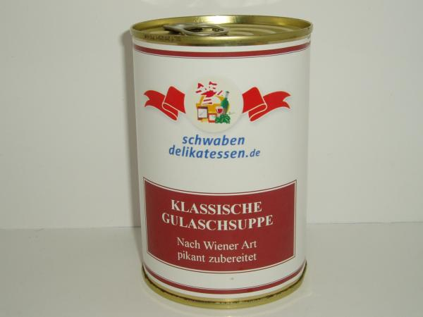 Klassische Wiener Gulaschsuppe