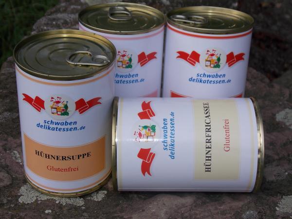 Schwabendelikatessen (glutenfreies) 4er-Paket